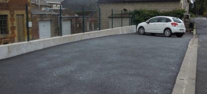 Création parking